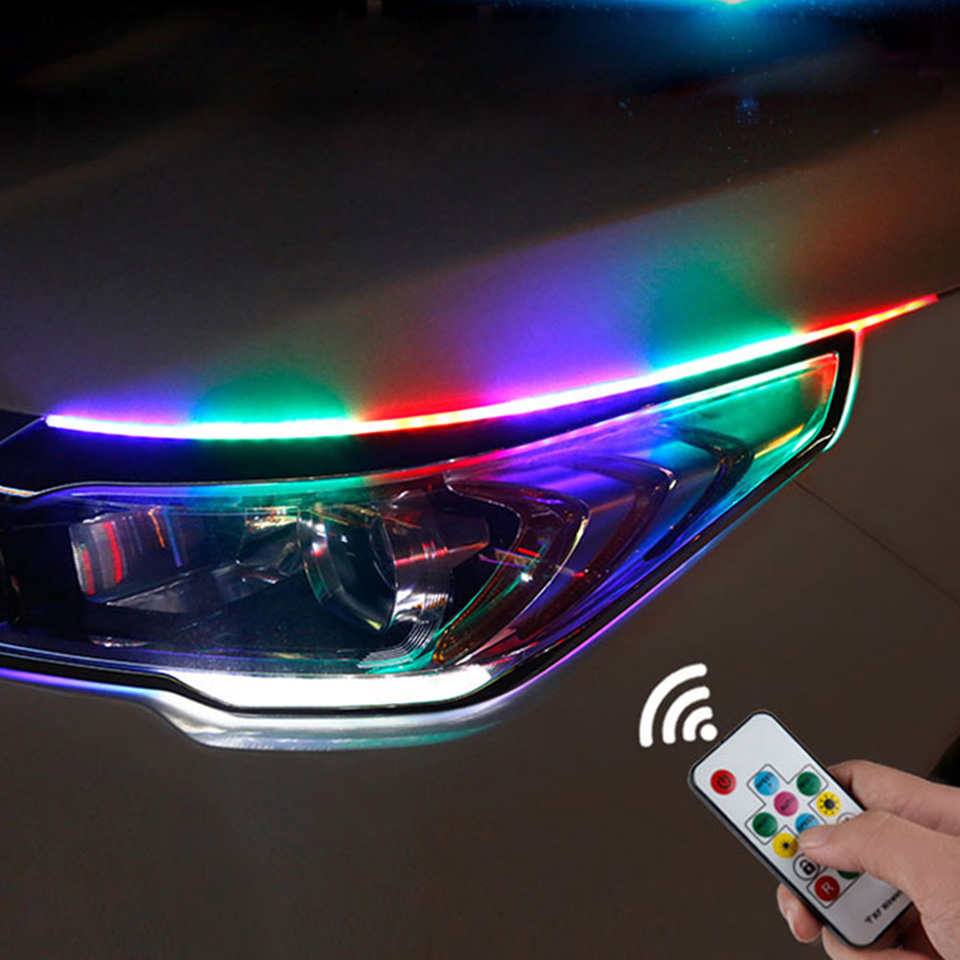 Newest Magic Color Car Led Daytime Running Lights Auto