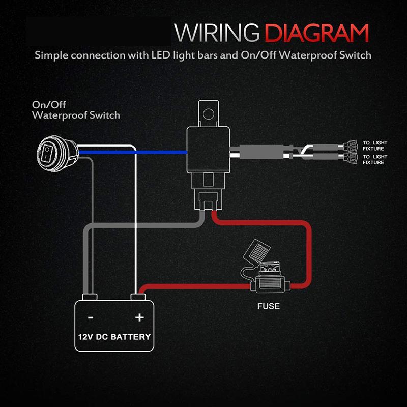 Wiring Harness for Led light bar work light spotlights – youstar-light.comyoustar-light.com – Youstar